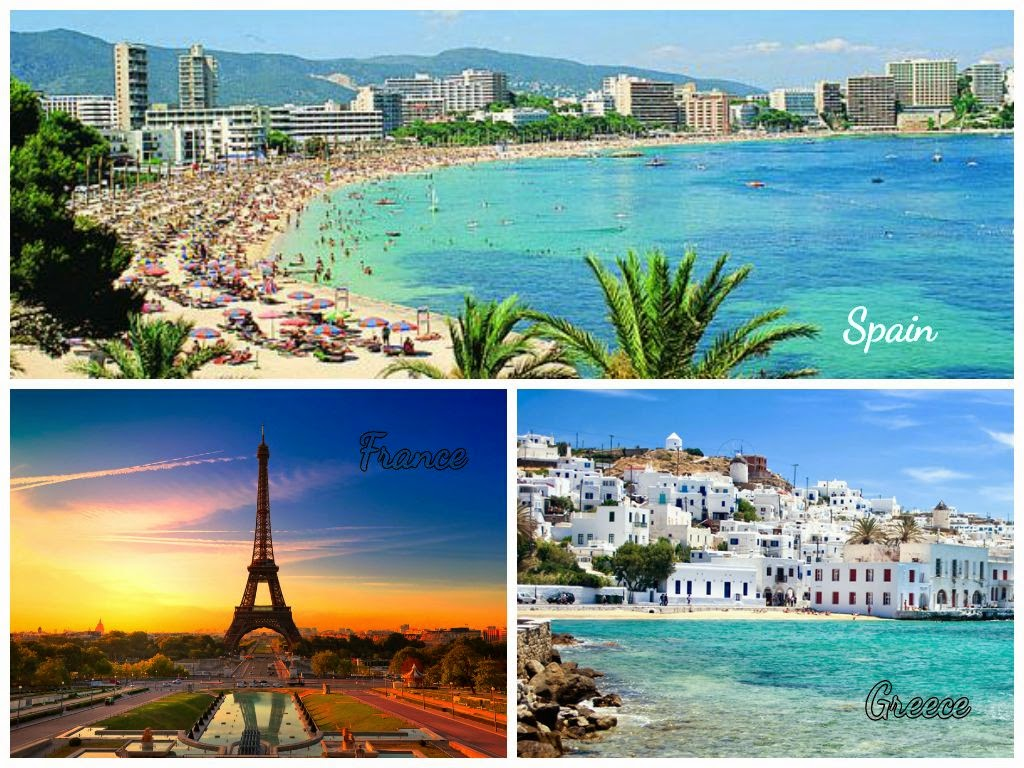 The Top Ten Holiday Destinations Around The World